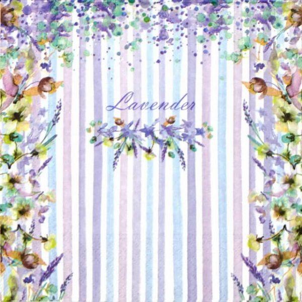 Paper Napkin - Lavender