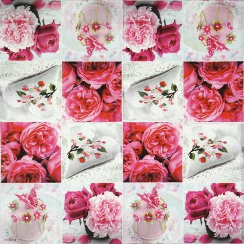 Lunch Napkins (20) - Pink Shades