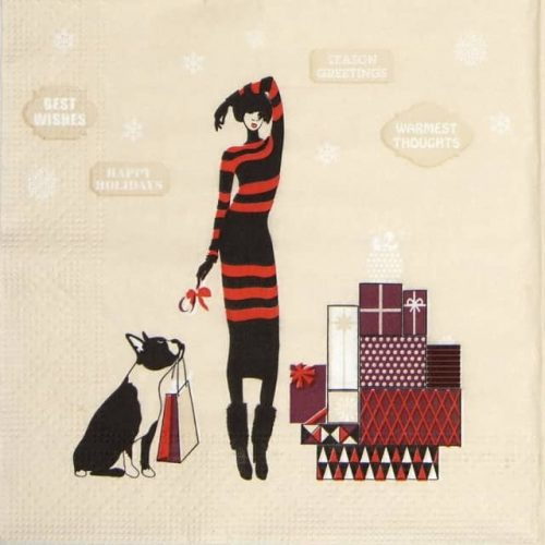 Lunch Napkins (20) - Christmas shopping