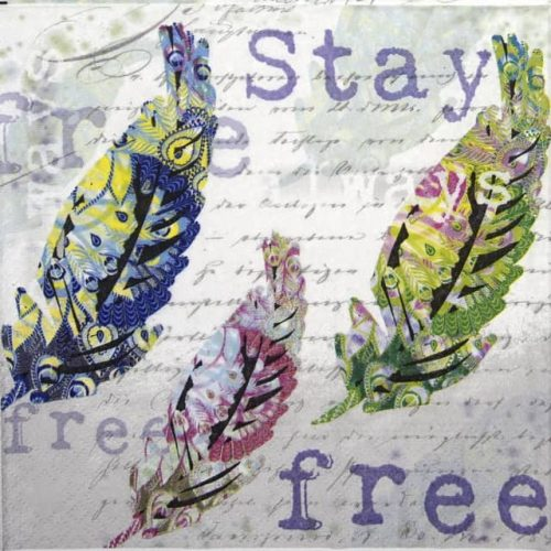 Paper Napkin - Stay Always Free