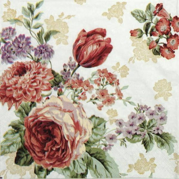 Paper Napkin - Mysterious Rose
