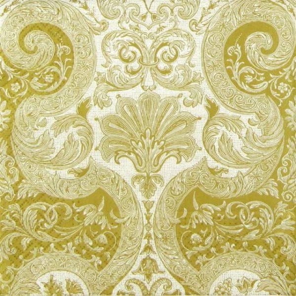 Paper Napkin - Fairy Ornament Gold