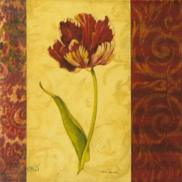 Lunch Napkins (20) - Red Tulip