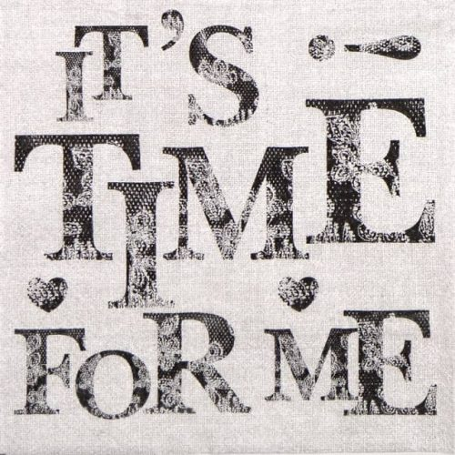Paper Napkin - Time Me