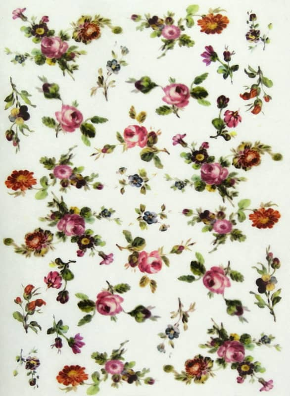 Rice Paper - Small Flowers