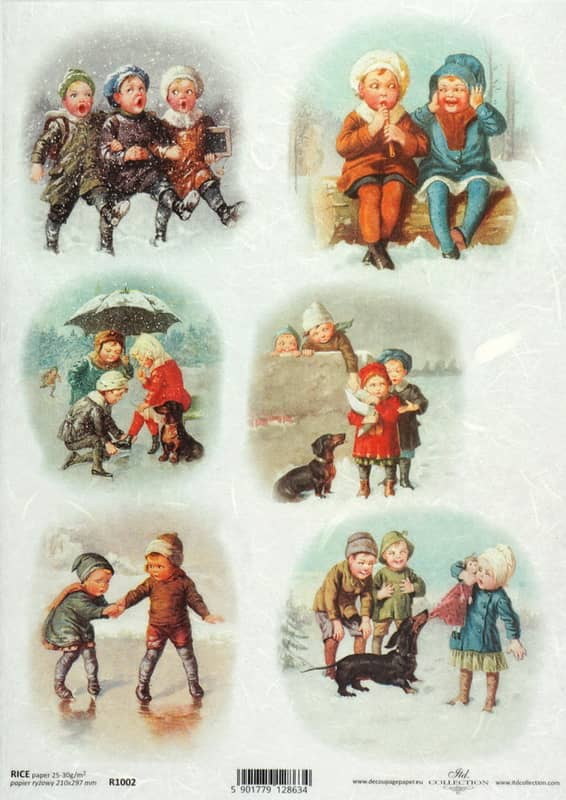Rice Paper - Vintage Winter Playing