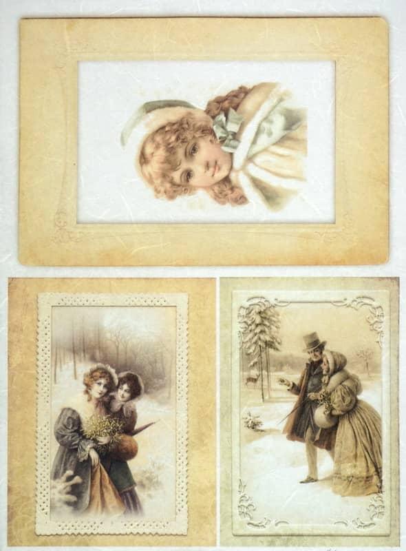 Rice Paper - Vintage Winter Photos