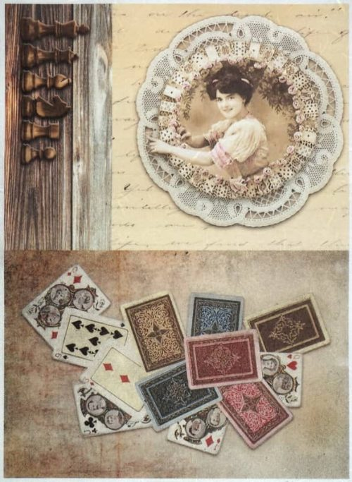 Rice Paper - Vintage Cards and Chess-