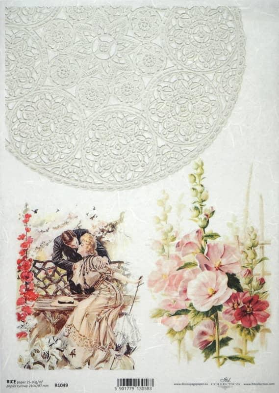 Rice Paper - Romantic Garden Date