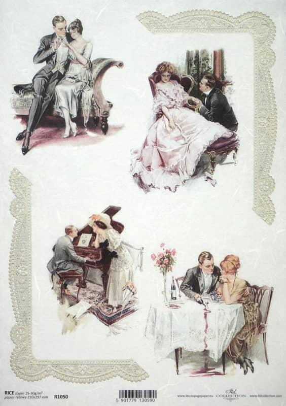 Rice Paper - Vintage Romantic Date