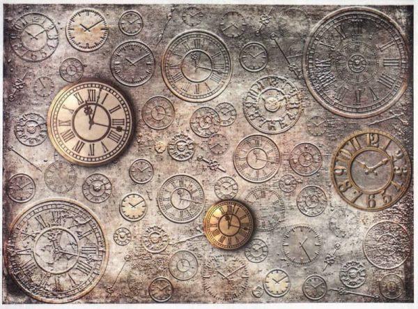 Rice Paper - Vintage Clocks 2