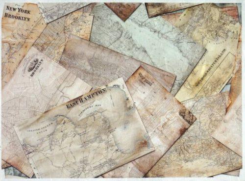 Rice Paper - Vintage City Maps