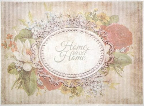 Rice Paper - Sweet home badge-