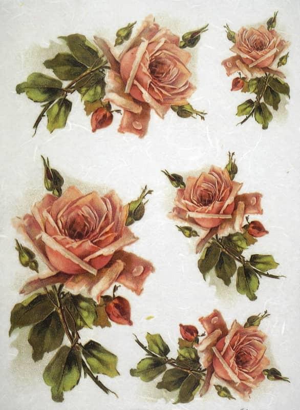 Rice Paper - Beautiful Roses