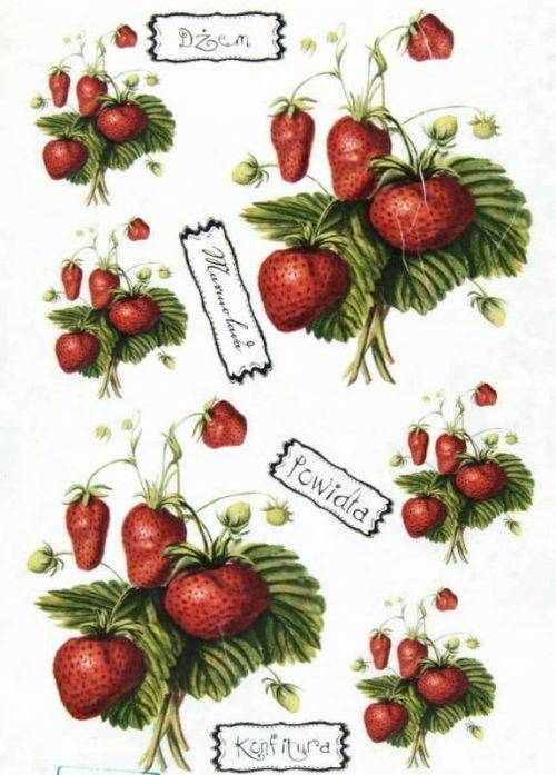 Rice Paper - Strawberry