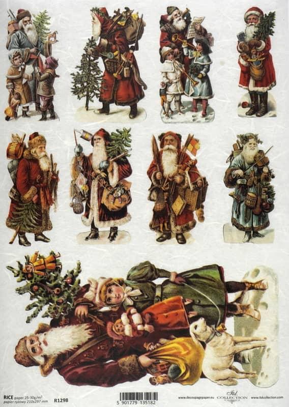 Rice Paper - Santa's situations 01