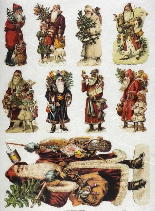 Rice Paper - Santa's situations 03