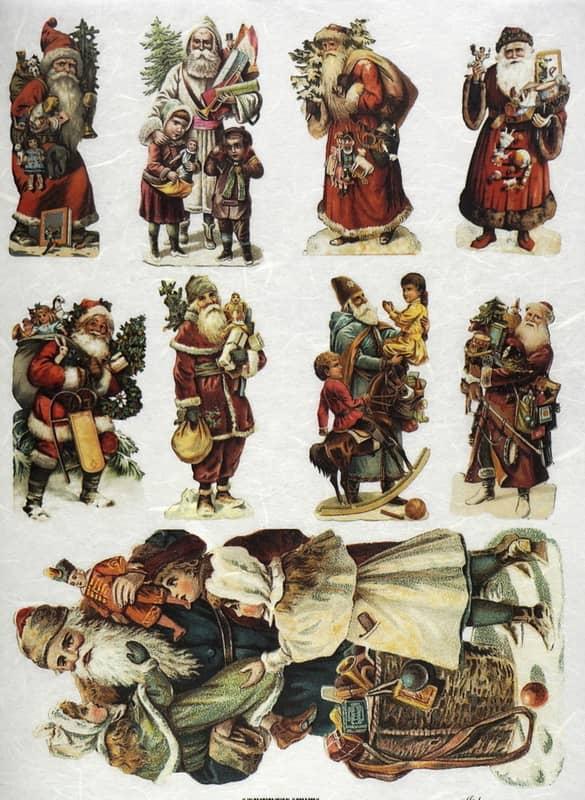 Rice Paper - Santa's situations 04
