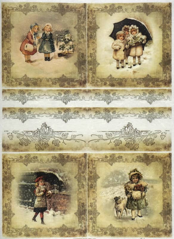 Rice Paper - Winter playing time 02-