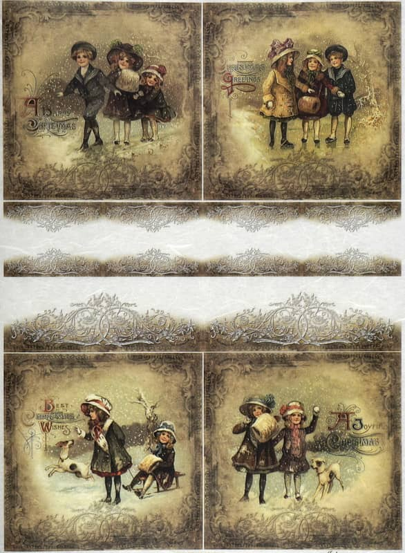 Rice Paper - Winter playing time 04-