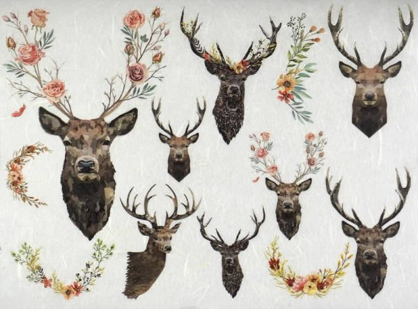 Rice Paper - Stags