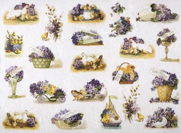 Rice Paper - Flower Easter
