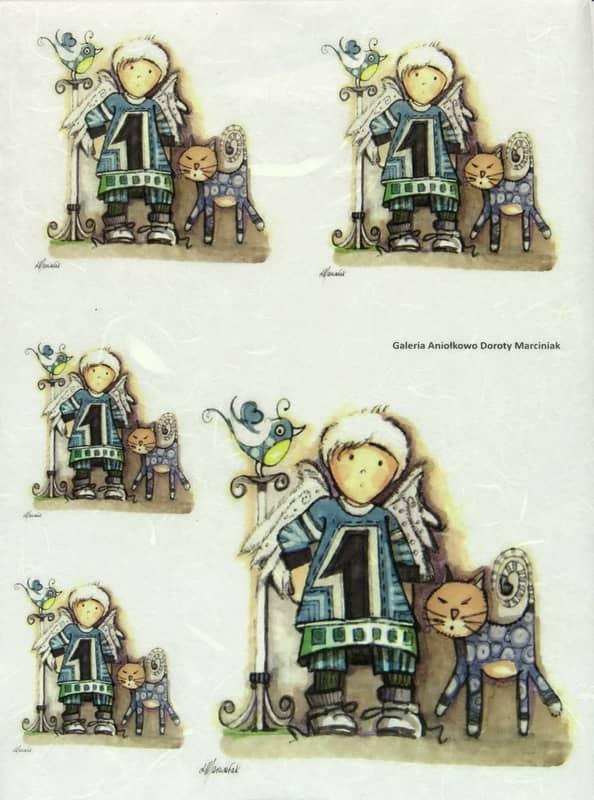 Rice Paper - D.Marciniak: No1 Angel
