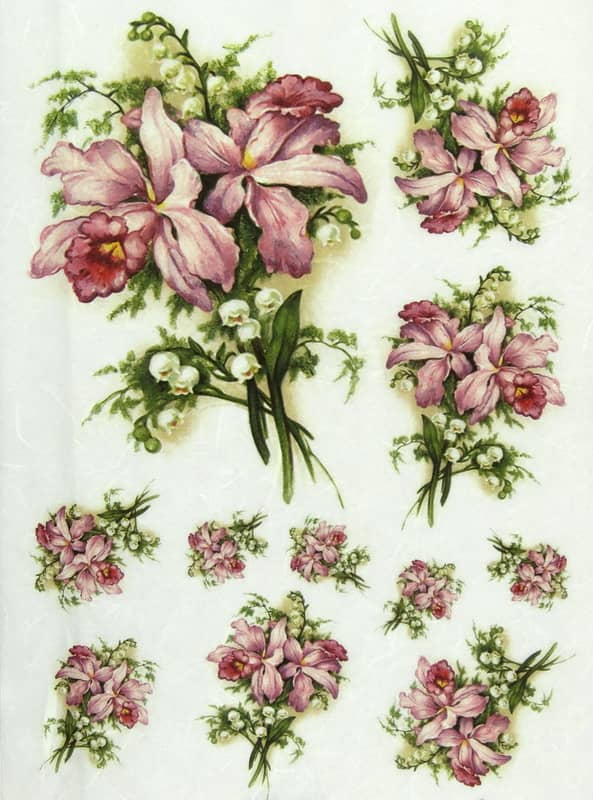 Rice Paper - Lily, Lily of the Valley