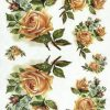 Rice Paper - Vintage Antique Rose
