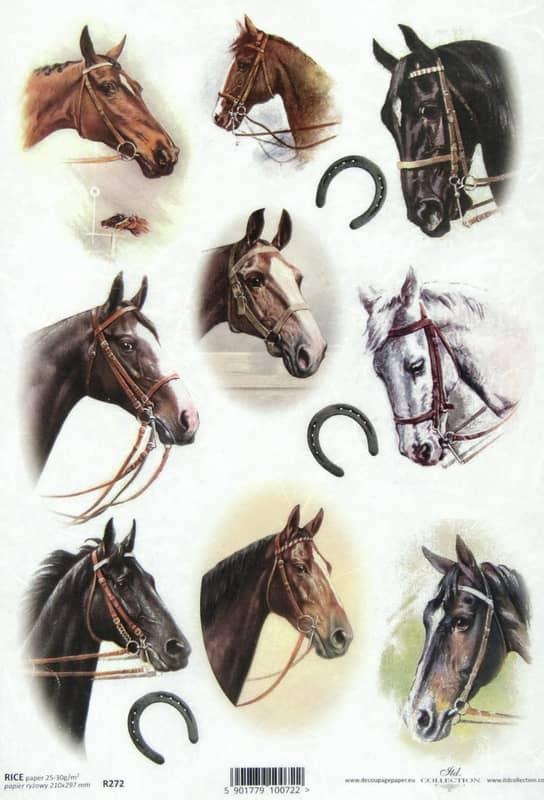 Rice Paper - Horses 2