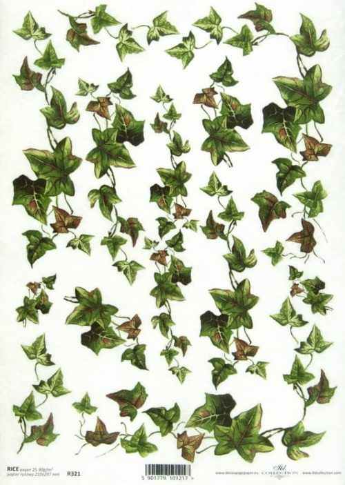 Rice Paper - Vintage Ivy small