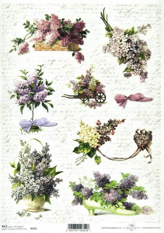 Rice Paper - Vintage Lilac