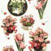 Rice Paper - Vintage Antique Bouquet Small