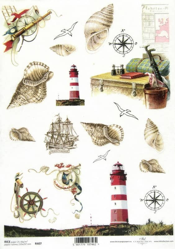 Rice Paper - Lighthouse