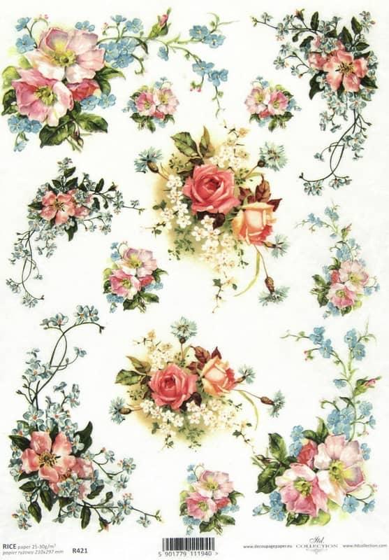 Rice Paper - Petit Bouquet
