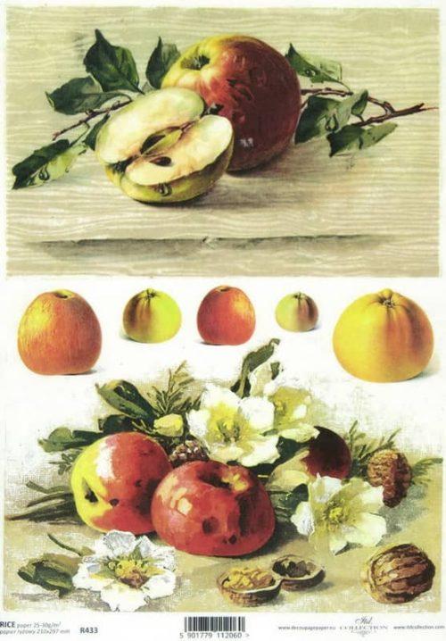 Rice Paper - Apples