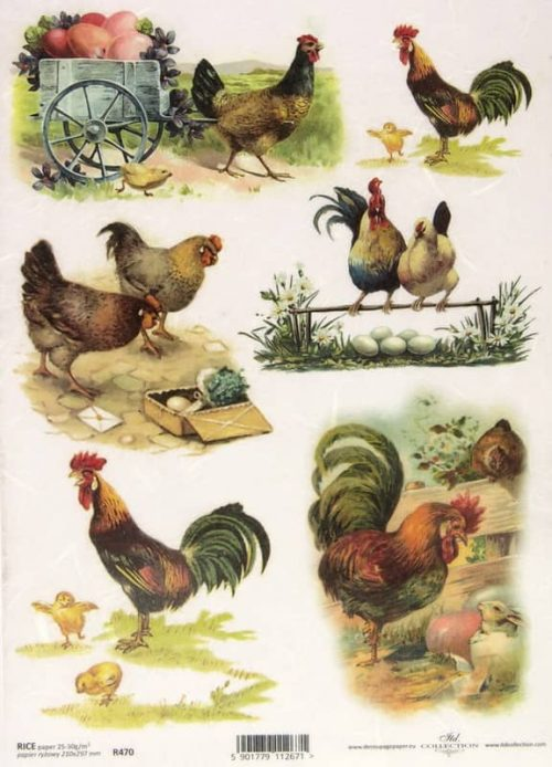 Rice Paper - Easter Chicken Farm
