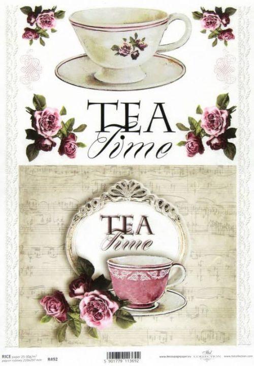 Rice Paper - Tea Time