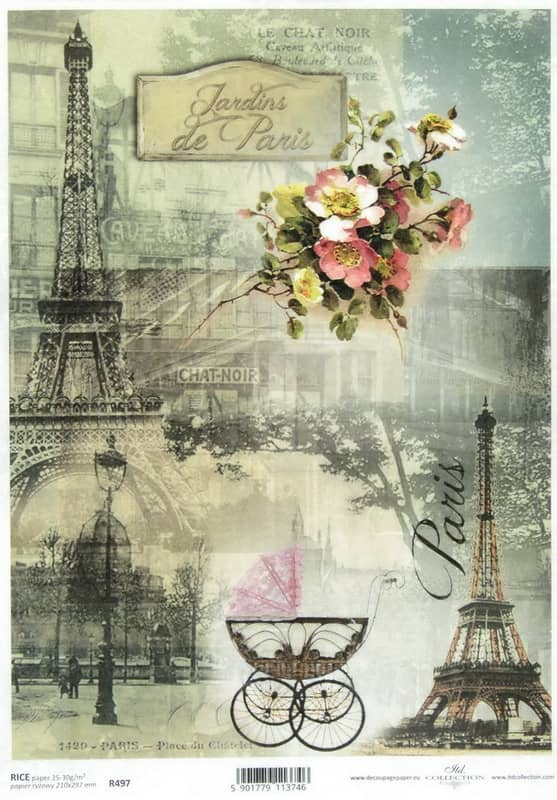 Rice Paper - Parisian Still Life 3