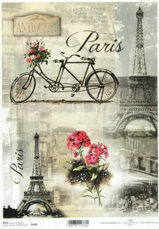 Rice Paper - Parisian Still Life