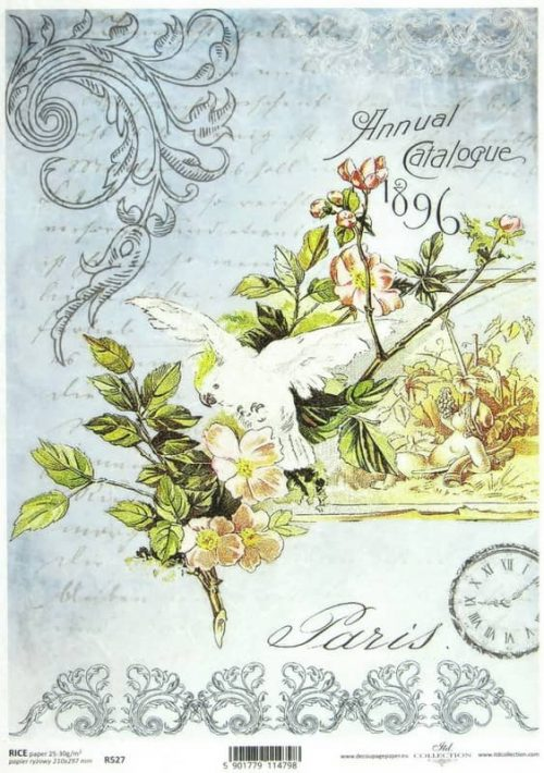 Rice Paper - Vintage Annual Catalogue 1896