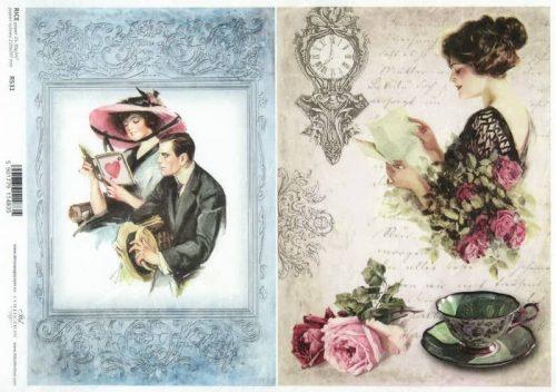 Rice Paper - Vintage Love