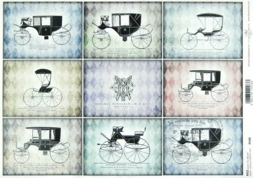 Rice Paper - Vintage Carriage