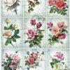 Rice Paper - Vintage Rose Sonata