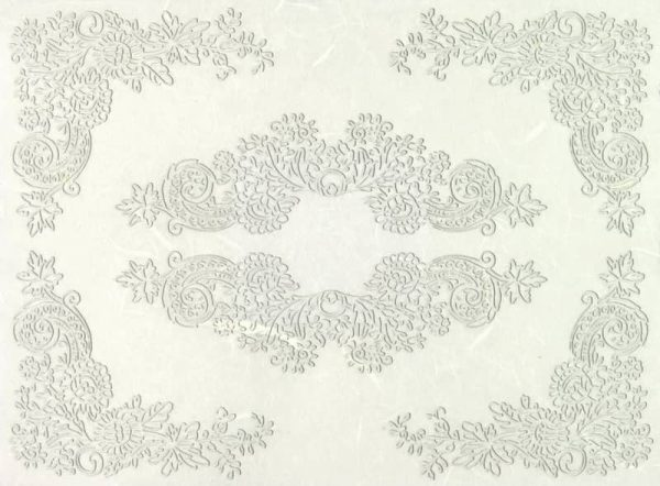 Rice Paper - White Lace