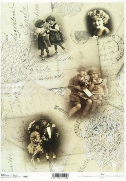 Rice Paper - Postcard and Lace 2
