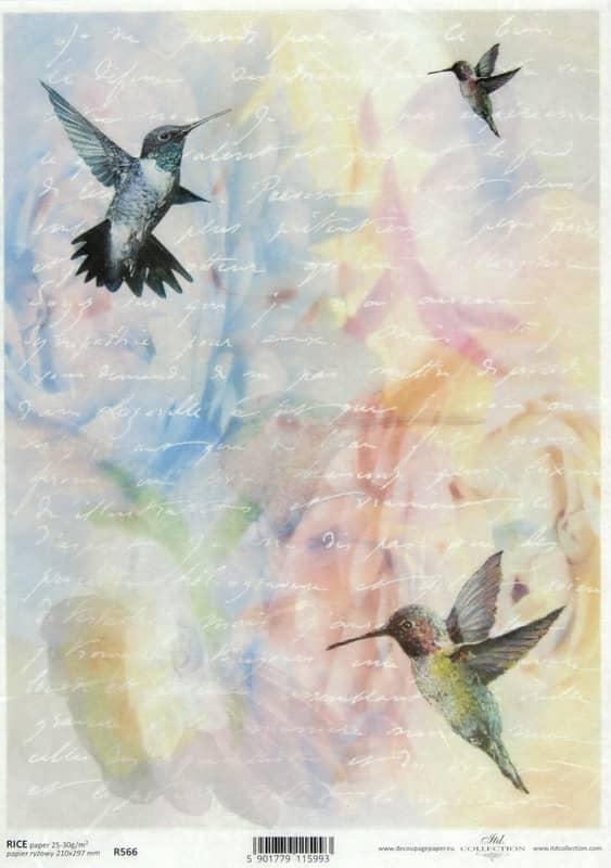 Rice Paper - Writing Paper Kolibri