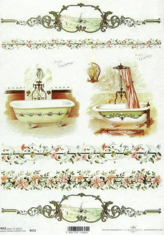 Rice Paper - Classic Bath Olympian