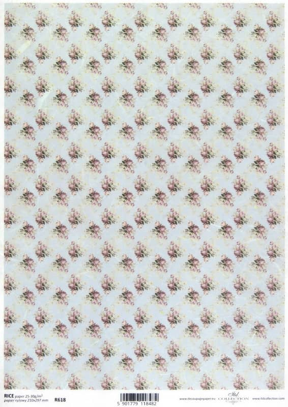 Rice Paper - Shabby Chic Roses S