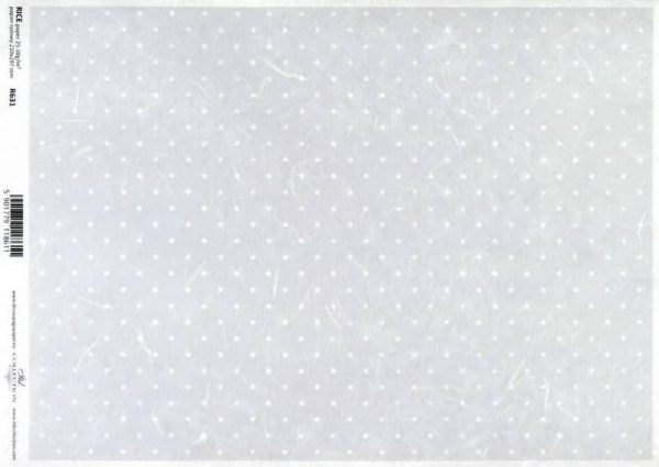 Rice Paper - Vintage Polka Dot Background Taupe